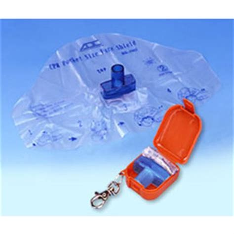 cpr face shield keychain hopkins medical products