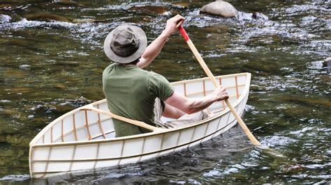 pound boat 8 pound canoe build youtube