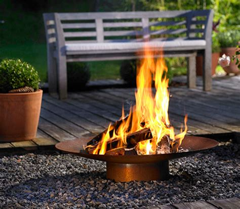 Garden Fireplaces by Garden Fireplace From Attika