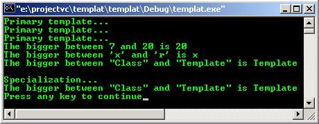 template partial specialization the basic of the c templates programming tutorial with