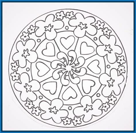 imagenes de mandalas para niños mandalas para ni 241 os para colorear y descargar dibujos de