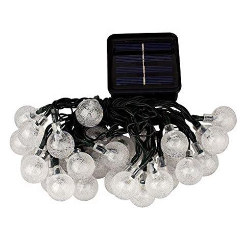 Supernight 6m 30leds Solar Outdoor Led String Lights Warm Solar Light Strands