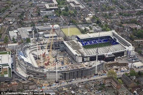 tottenham wembley seating plan away fans white hart lane is special but we re ready for new era