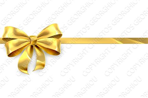 and gold bows gold bow ribbon gift ribbon graphics on creative market