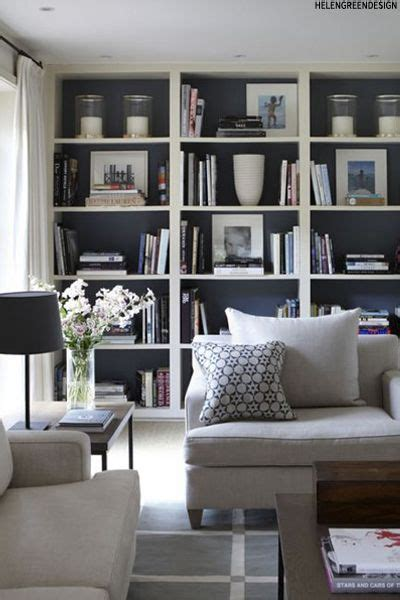 Living Room Book Shelf by Best 25 Living Room Bookshelves Ideas On