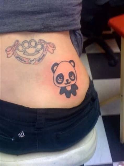 panda chest tattoo tumblr tumblr panda tattoo on back