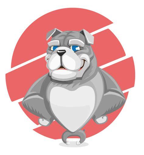 mascot clipart free bulldog mascot clip