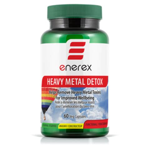 Is There A Metal Detox Product For Chromium by Buy Enerex Botanicals Heavy Metal Detox At Well Ca Free