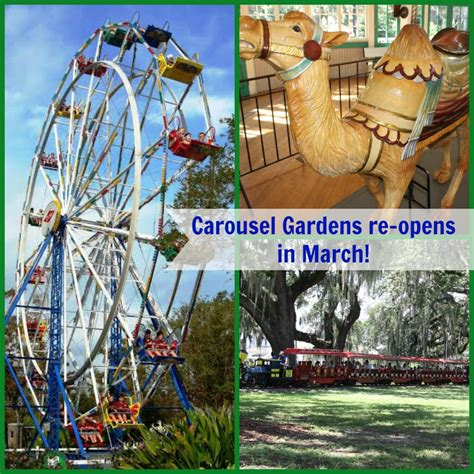 Carousel Gardens by Carousel Gardens In City Park Opens Again On March 8 Sponsored Giveaway New Orleans