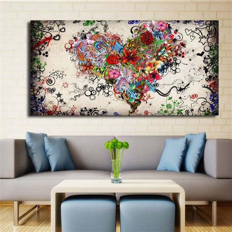 painting wohnzimmer modern big canvas wall canvas painting watercolor