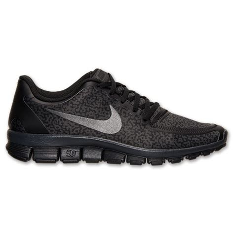 nike free 5 0 v4 running shoes all black f5 0v4 w