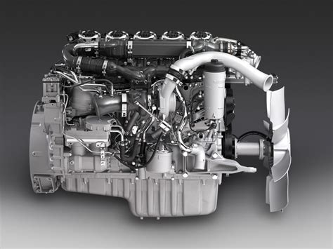 scania s new on the engine block scania
