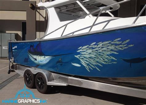 sailfish boat wraps wrap gallery marine graphics ink