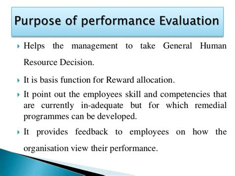 Mba Evaluation by Performance Evaluation By Mba Shinu