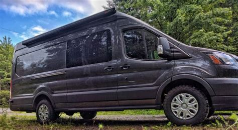 ford transit connect awning faroutvan ford transit 2016 diy cervan conversion for