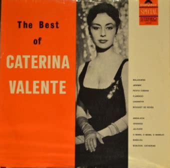 caterina valente flamingo caterina valente the best of caterina valente vinyl lp