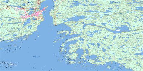 map yellowknife canada yellowknife bay nt free topo map 085j08 at 1 50 000
