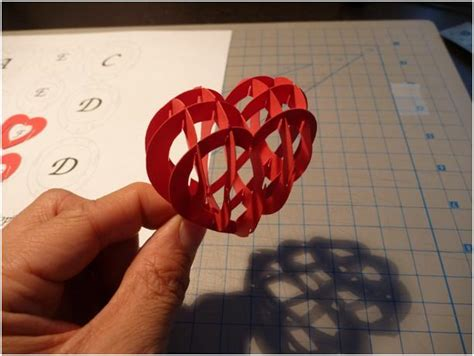 valentines cards templates 3d s day pop up card 3d tutorial