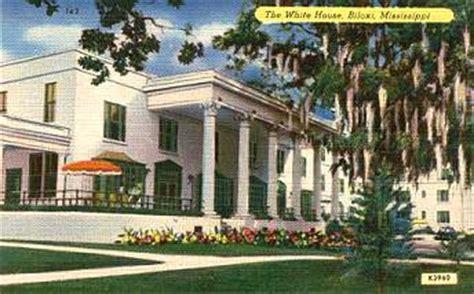 The White House Biloxi by Biloxi Motels Hotel Postcards