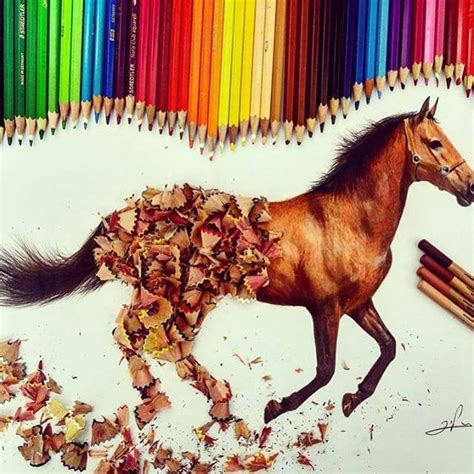 image gallery horse drawings to colour horse color pencil drawing by liranvardiel