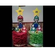 DIY Centros De Mesa Mario Bross  YouTube