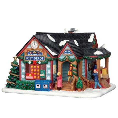 lemax snowflake lane post depot sku 65108 released in