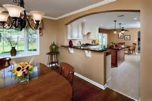 kitchen half wall ideas kitchen renovations by custom craft contractors