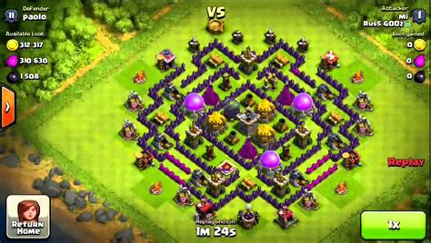 best th8 base the best th8 farming base ever seen 720p youtube
