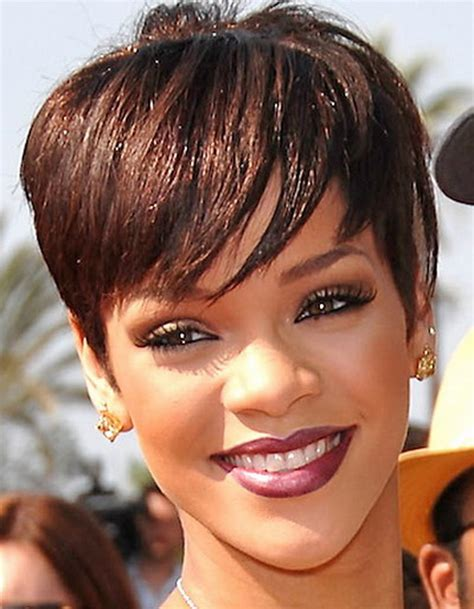 haircut and style magazine get hairspired with these rihanna s short hairstyles