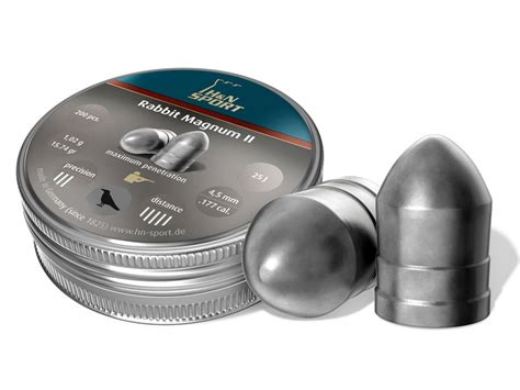 Rabbit Magnum Cal 22 h n rabbit mag ii air gun pellets 22 cal 25 62 mpn