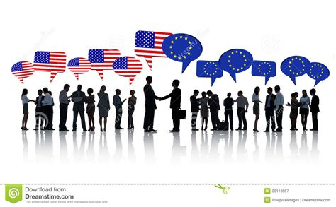Best European Mba For Americans by American And European Business Stock Photo Image