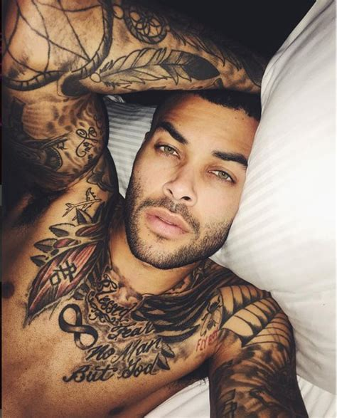 sexiest tattoos on guys instagram models vh1