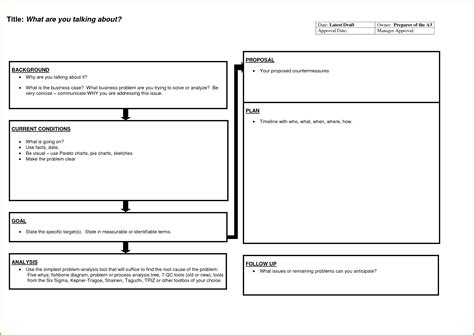 a3 report template a3 report template related keywords a3 report template