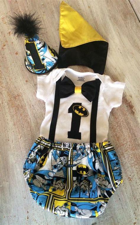 batman superhero comic cake smash outfit  cape  cuteasclaire vals st birthday