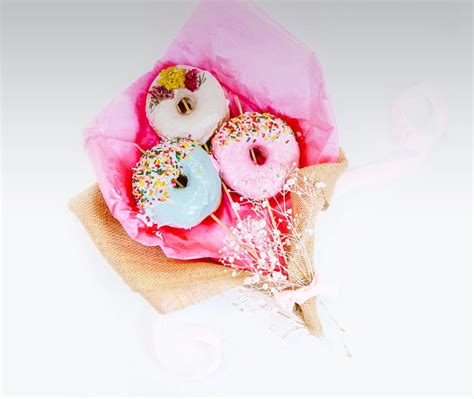Send Bouquet by Now You Can Send Bouquets Of Donuts Instead Of Flowers
