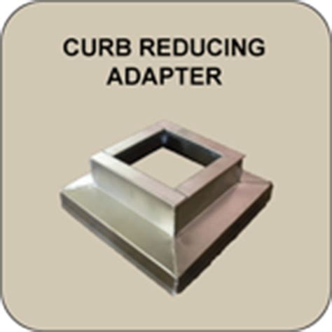 exhaust fan curb adapters l arden roof curbs jersey