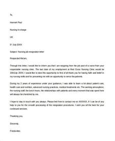 Resignation Letter Format Lab Technician Resignation Letter Format