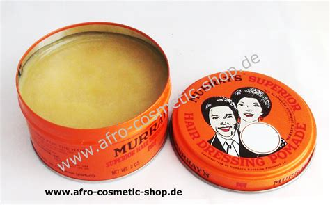 Pomade Murray S Superior murray s superior hair dressing pomade 3 oz afro cosmetic shop