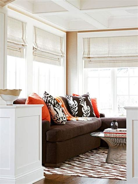 How To Go On Living 9 stunning ways to use a brown sofa brown sofas