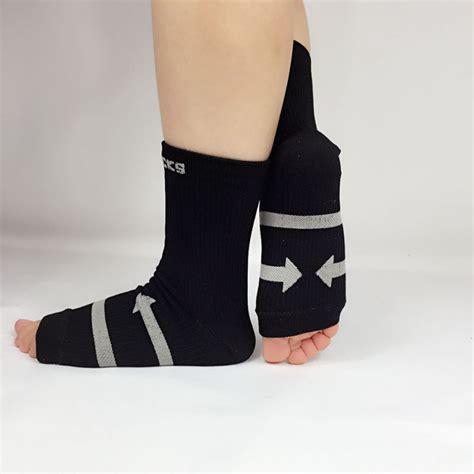 Comfort Foot Anti Fatigue Compression Sleeve Elastic S Socks anti fatigue compression copper fiber foot sleeve relief heel ankle socks ebay