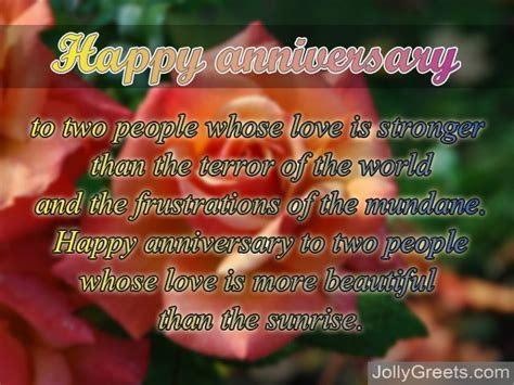 Wedding Anniversary Poems For Parents by Anniversary Poems For Parents Happy Anniversary And