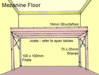 how to build a mezzanine build a mezanine storage floor any room free diy plans ebay