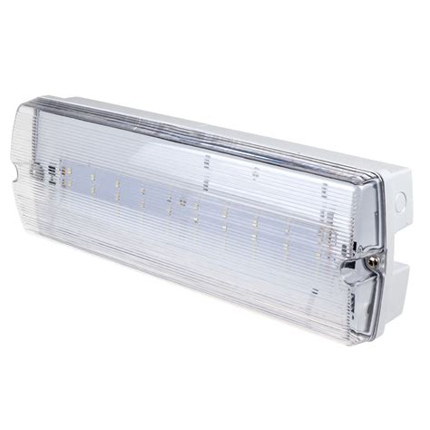 Lu Emergency 28 Led Kenmaster v tac 30 leds bulk emergency exit light ip65 white