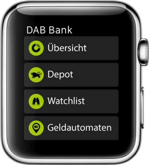 www dab bank dab bank app musterdepot er 246 ffnen