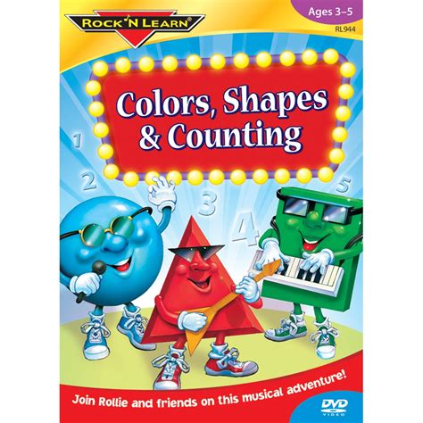 colors dvd colors shapes counting dvd