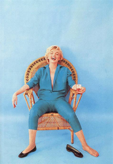 marilyn monroe in blue beautiful portraits of monroe