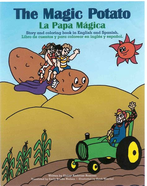 the potato parable books children fly around idaho on quot the magic potato