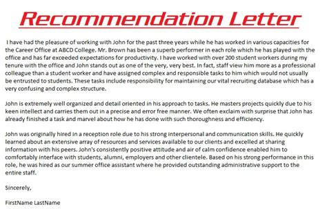 Letter Of Recommendation For Research Position Sle Recommendation Letter 3000 Sle Recommendation Letters