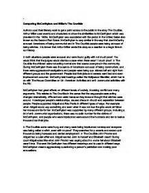 Miller Essay by College Essays College Application Essays Arthur Miller Essay