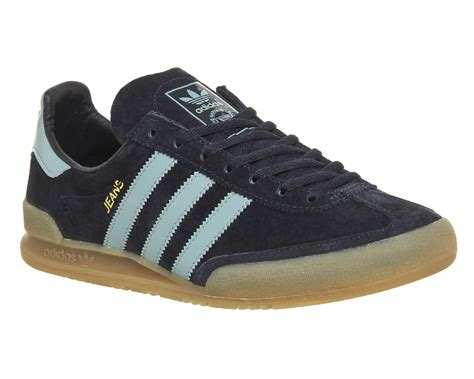 adidas jeans adidas jeans trainers night navy vapour steel gum trainers